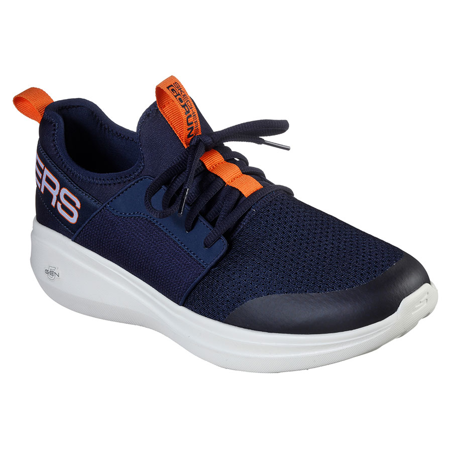 SKECHERS Calzado Zapatillas Navy Textile /Orange 55109-NVOR