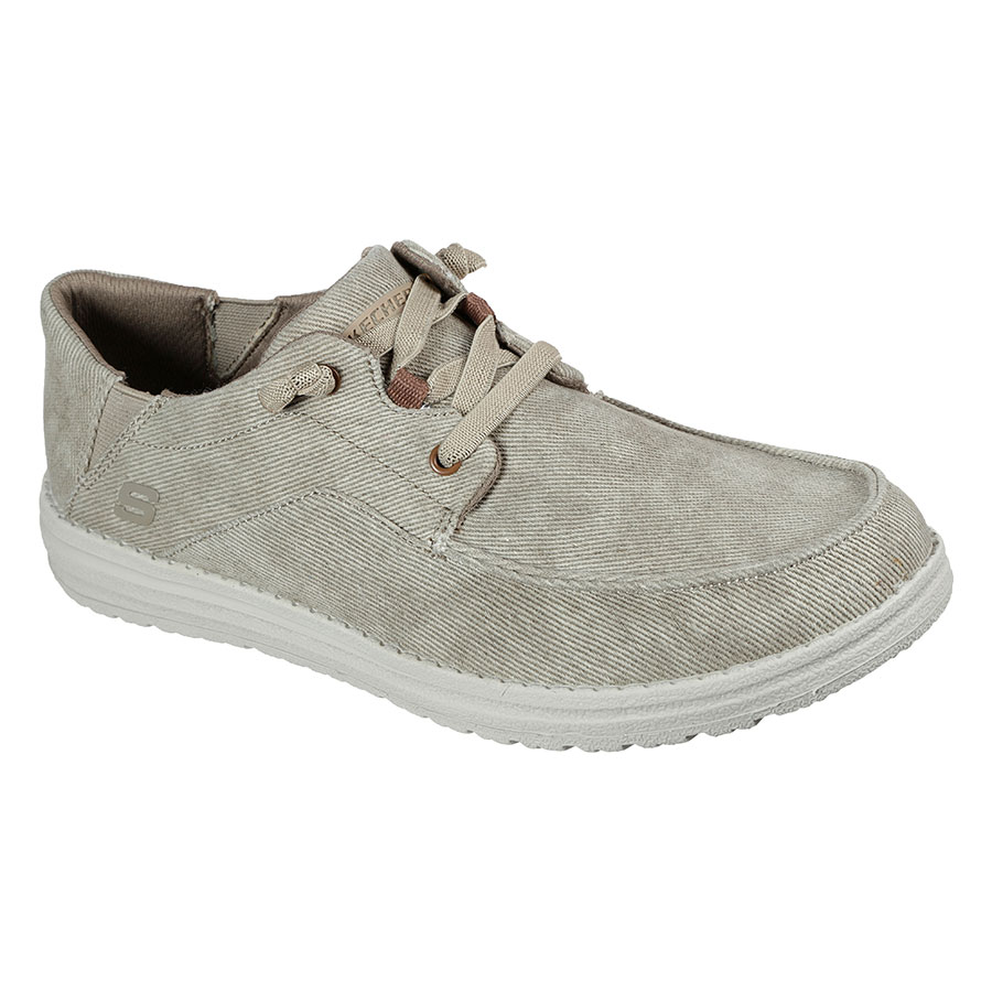 SKECHERS Calzado Mocasines Tan Canvas 66384-TAN