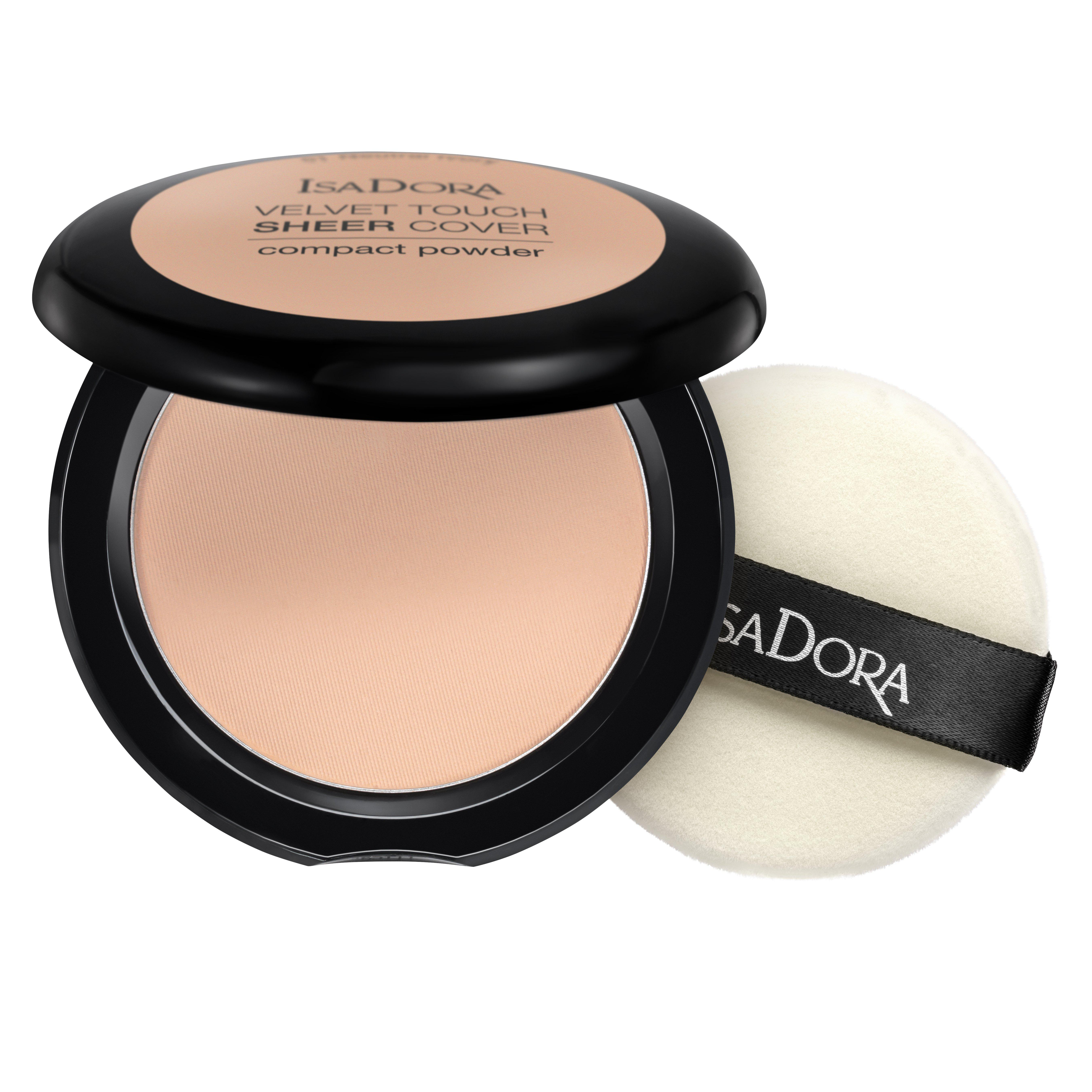 ISADORA. Velvet Touch Sheer Cover Compact Powder