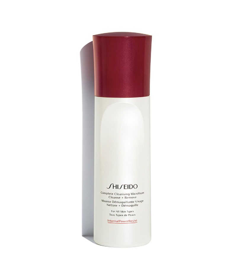 Cleansing. SHISEIDO Complete Cleansing Microfoam 180ml