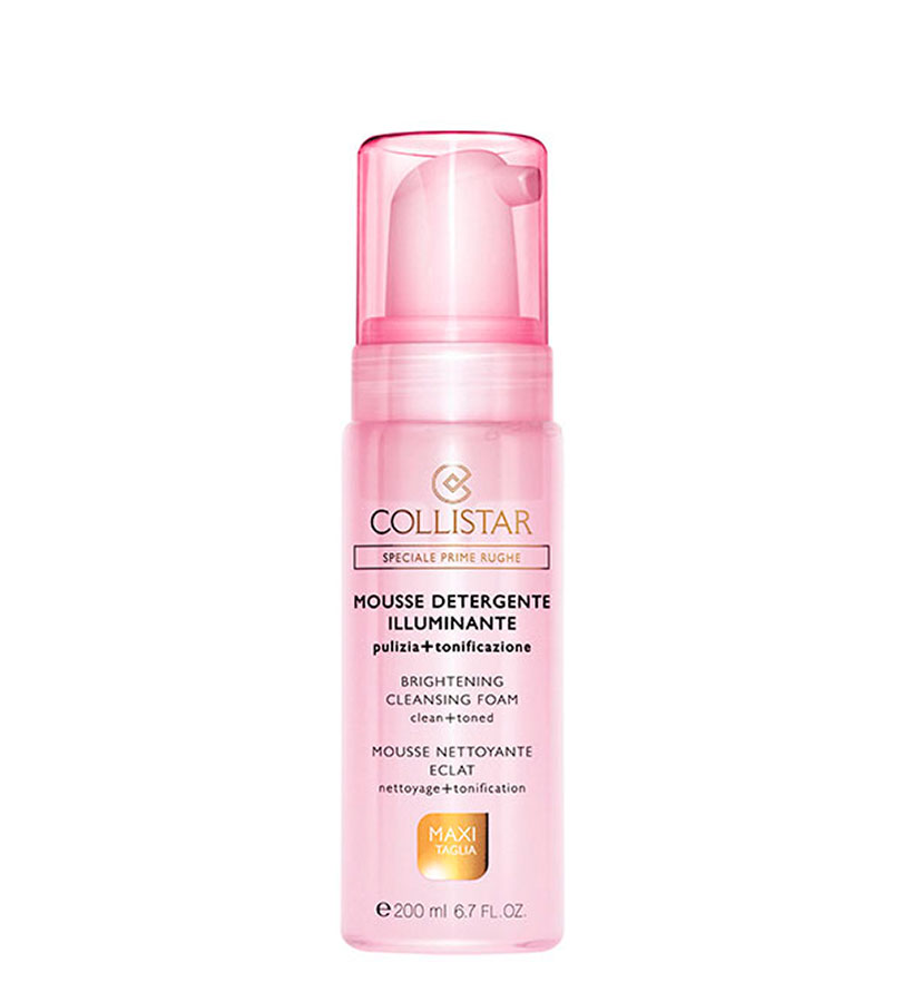 Speciale Prime Rughe. COLLISTAR Brightening Cleansing Foam 200ml