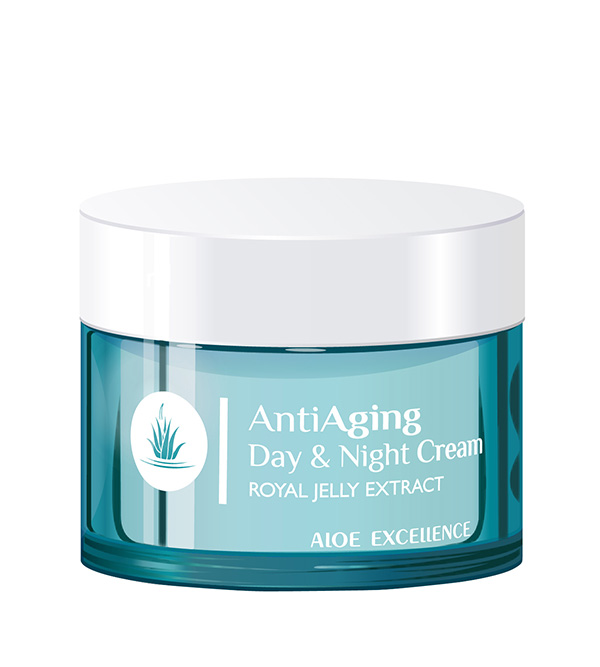 Face Care. ALOE EXCELLENCE Antiaging Day & Night Cream 50ml