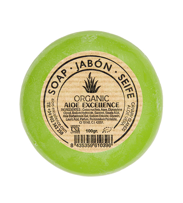 Organic. ALOE EXCELLENCE Soap Organic 100g