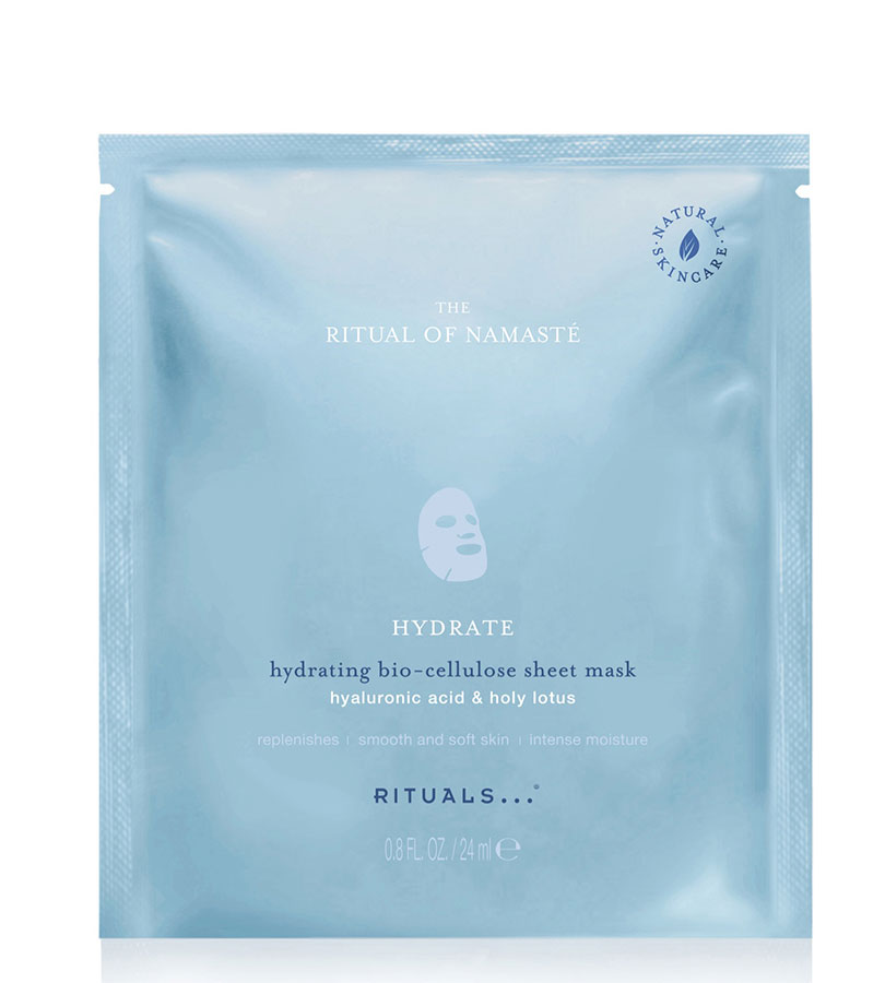 Namasté. RITUALS The Ritual of Namasté Hydrating Sheet Mask 24ml