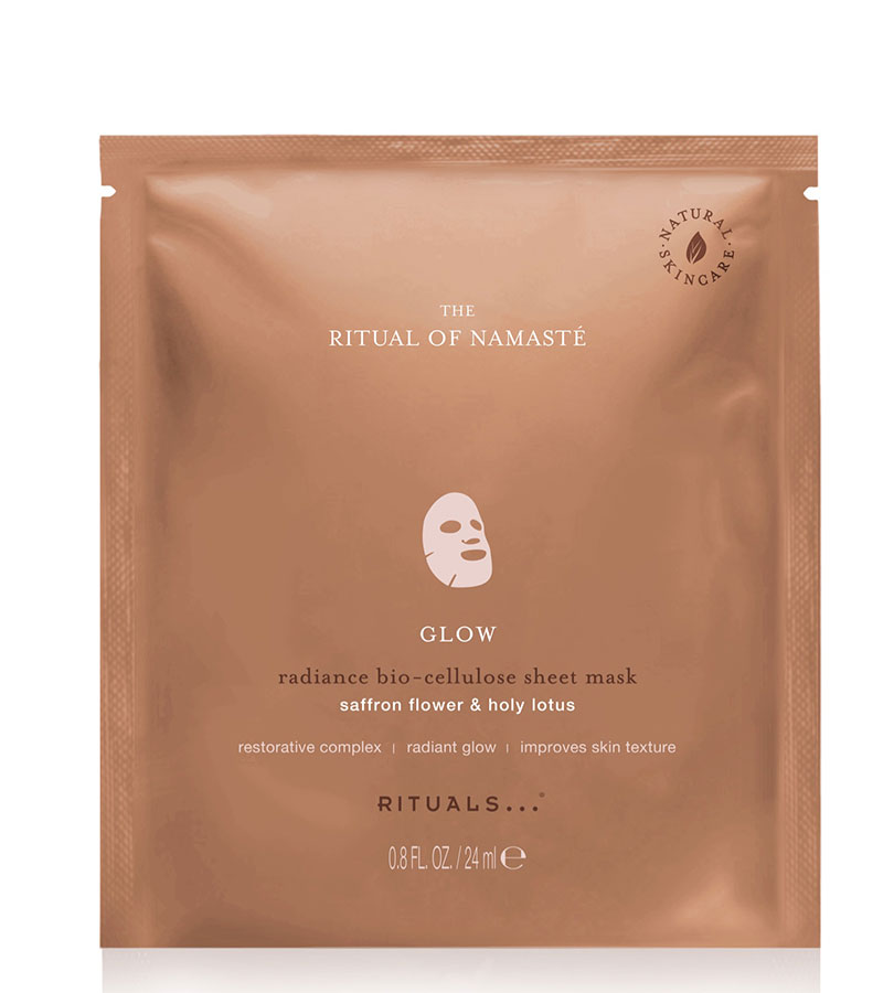 Namasté. RITUALS The Ritual of Namasté Glow Radiance Sheet Mask 24ml