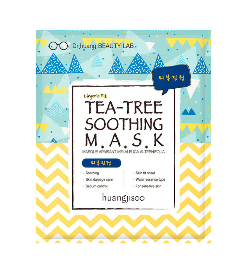 Huangjisoo. HUANGJISOO Tea-Tree Soothing Mask