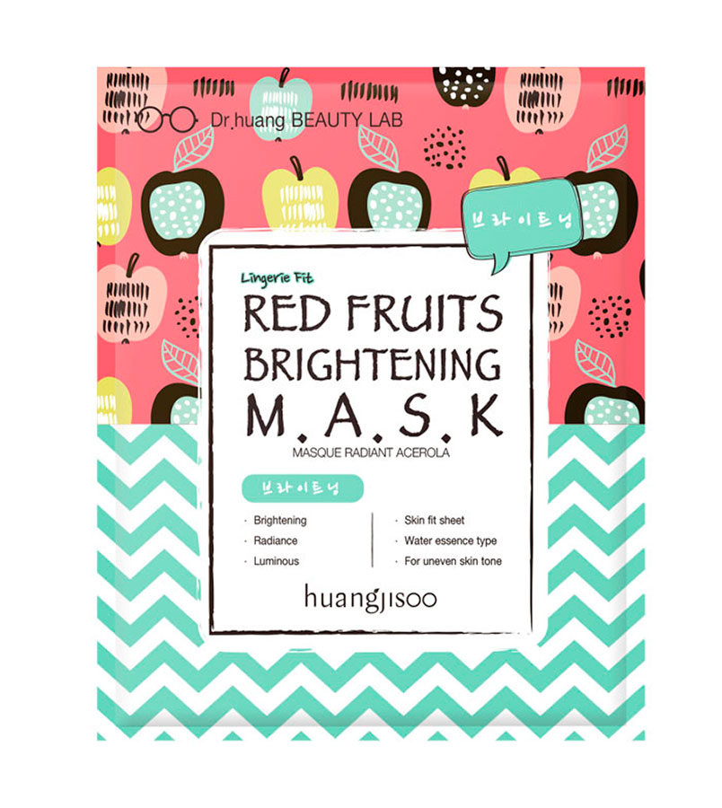 Huangjisoo. HUANGJISOO Red Fruit Brightening Mask