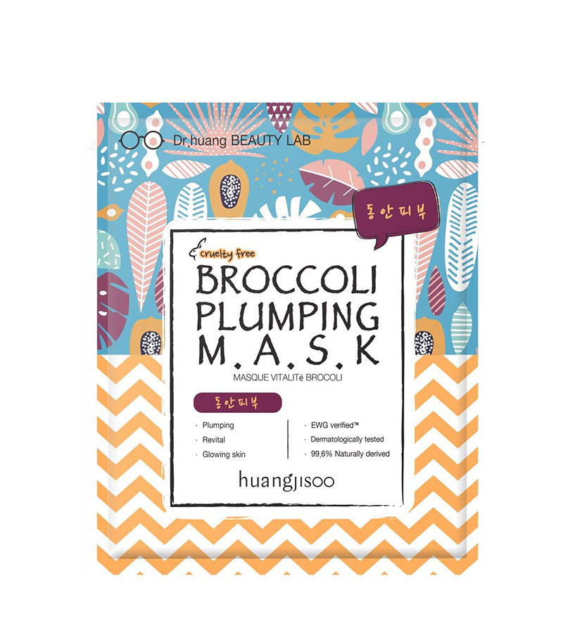 Huangjisoo. HUANGJISOO Broccoli Voluming Mask