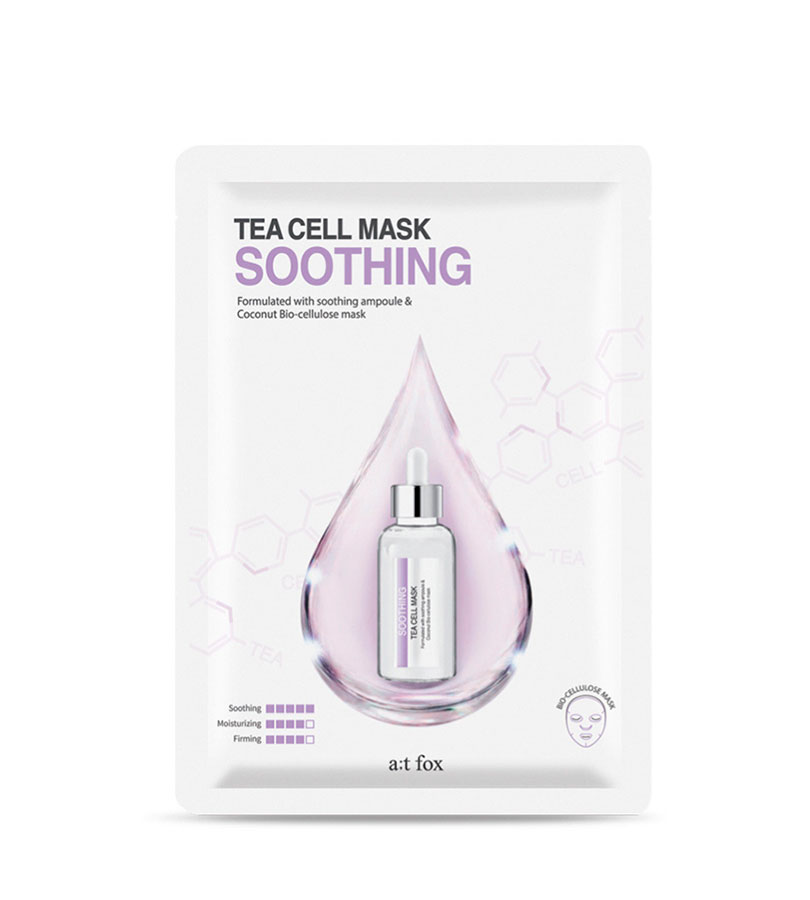 Tea Cell. AT FOX Teacell Soothing Mask 25ml