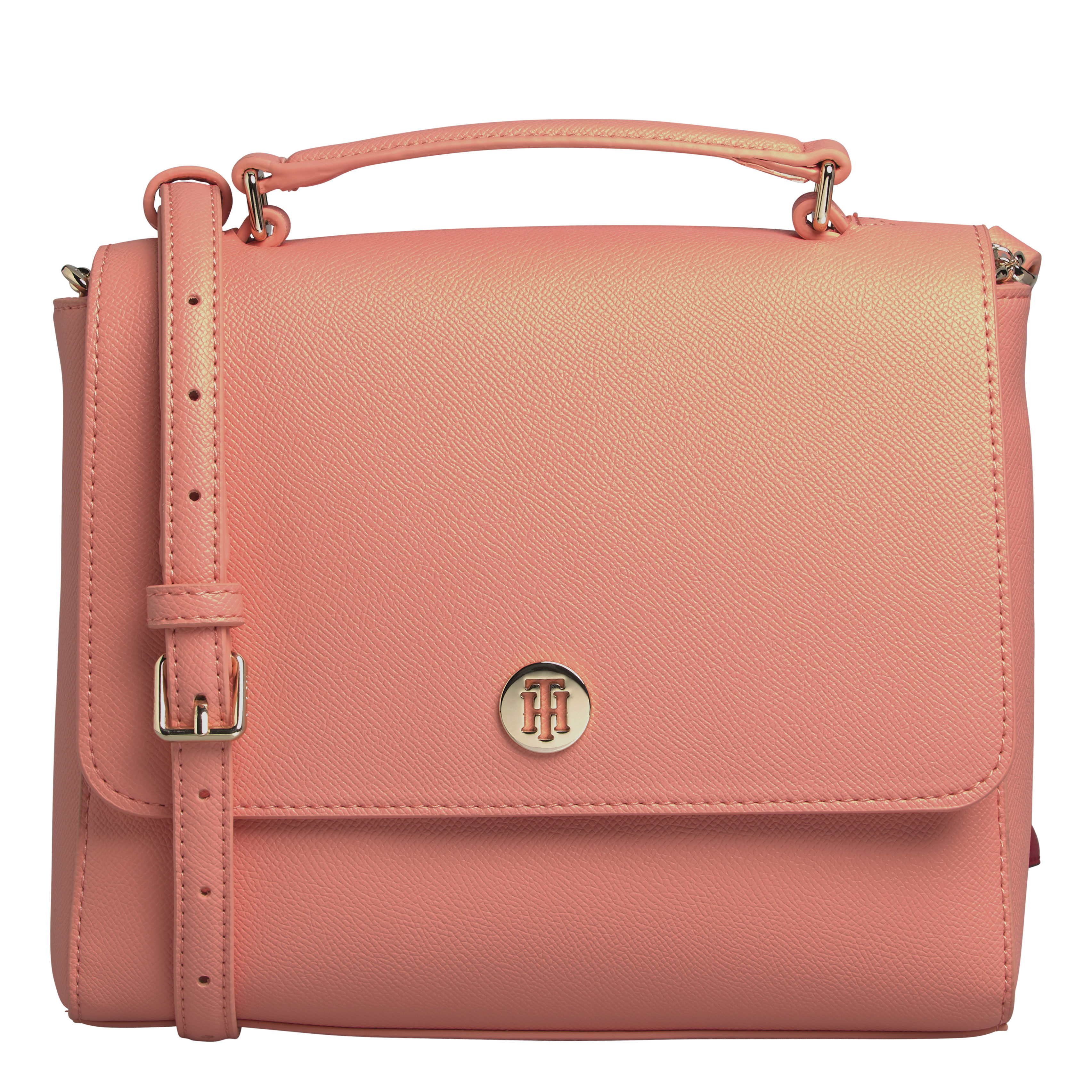 TOMMY HILFIGER Marroquinería Satchel Island Coral AW0AW07944-SN7
