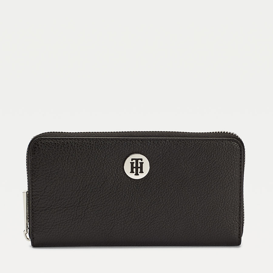 TOMMY HILFIGER Marroquinería Cartera Black AW0AW08489-BDS