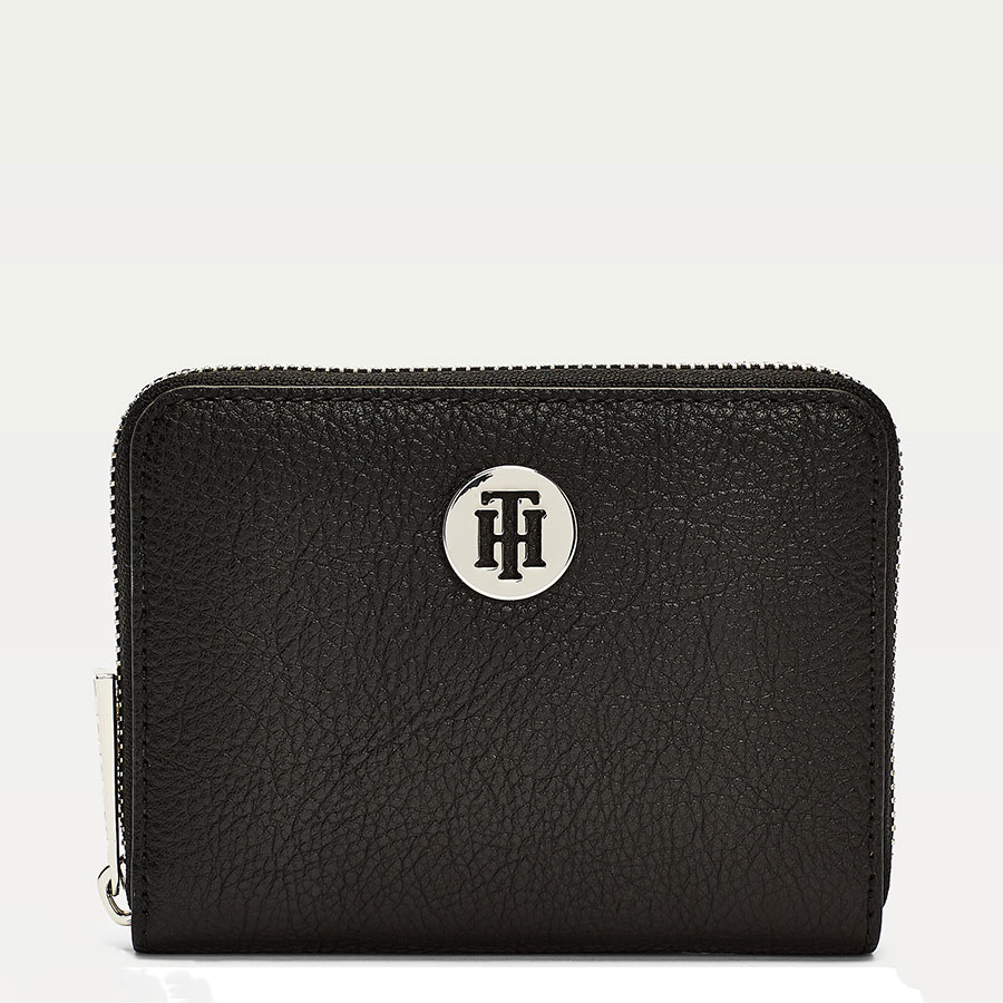 TOMMY HILFIGER Marroquinería Cartera Black AW0AW08490-BDS