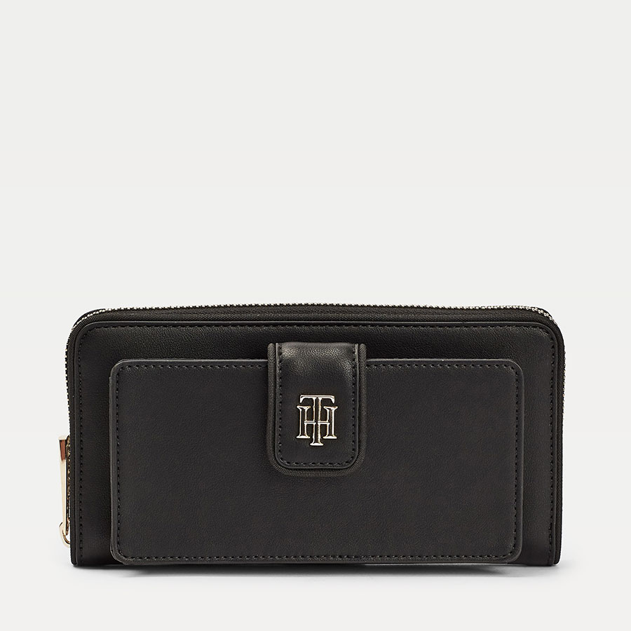TOMMY HILFIGER Marroquinería Cartera Black AW0AW08495-BDS