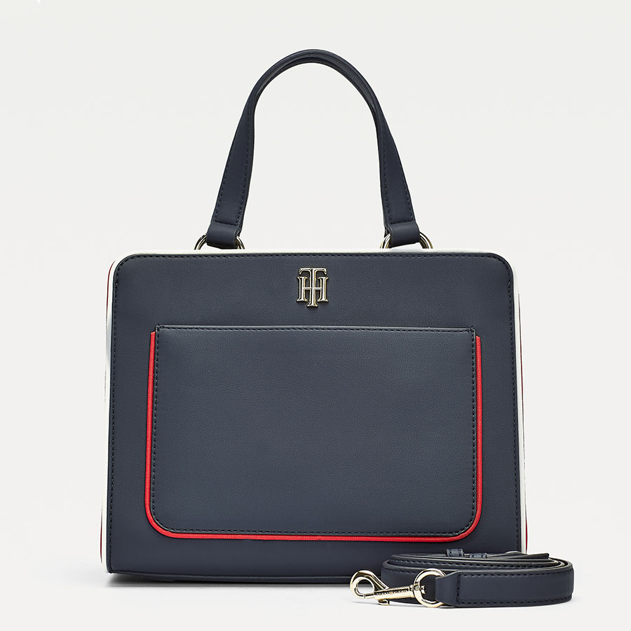 TOMMY HILFIGER Marroquinería Satchel Corporate AW0AW08519-CJM