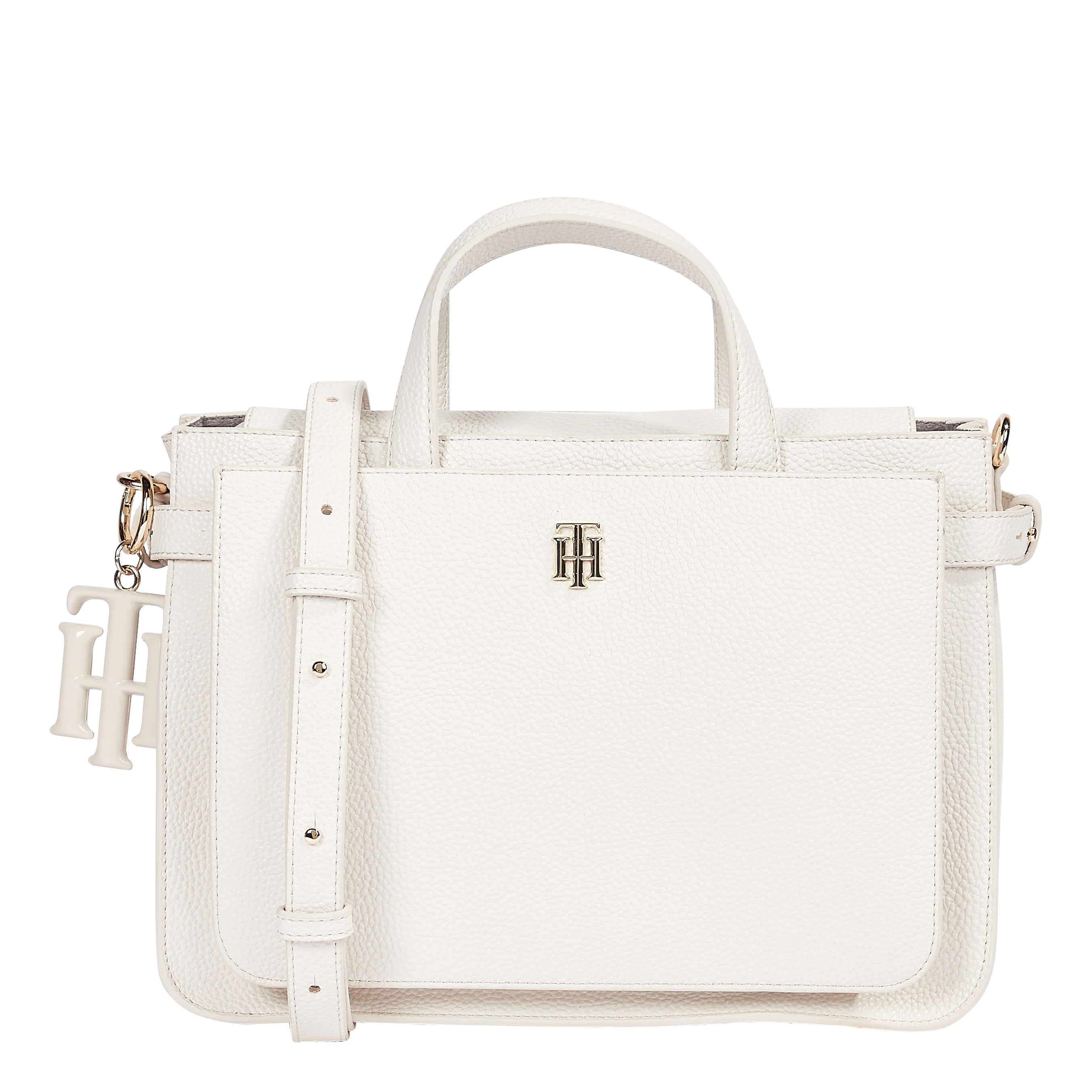 TOMMY HILFIGER Marroquinería Satchel White Dove AW0AW09835-AF2