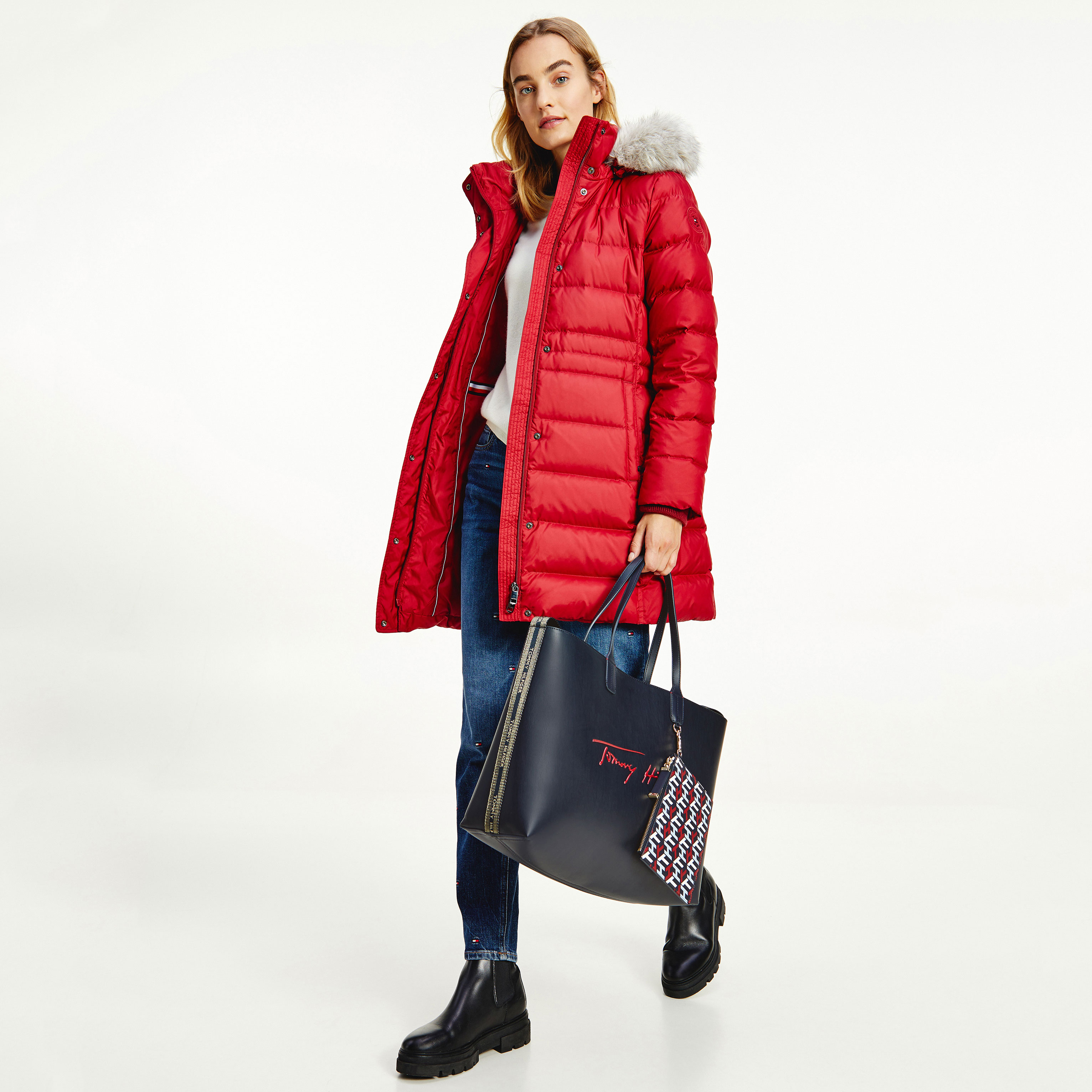 TOMMY HILFIGER Marroquinería Bolso Iconic Tommy Tote Sign AW0AW10457-DW5