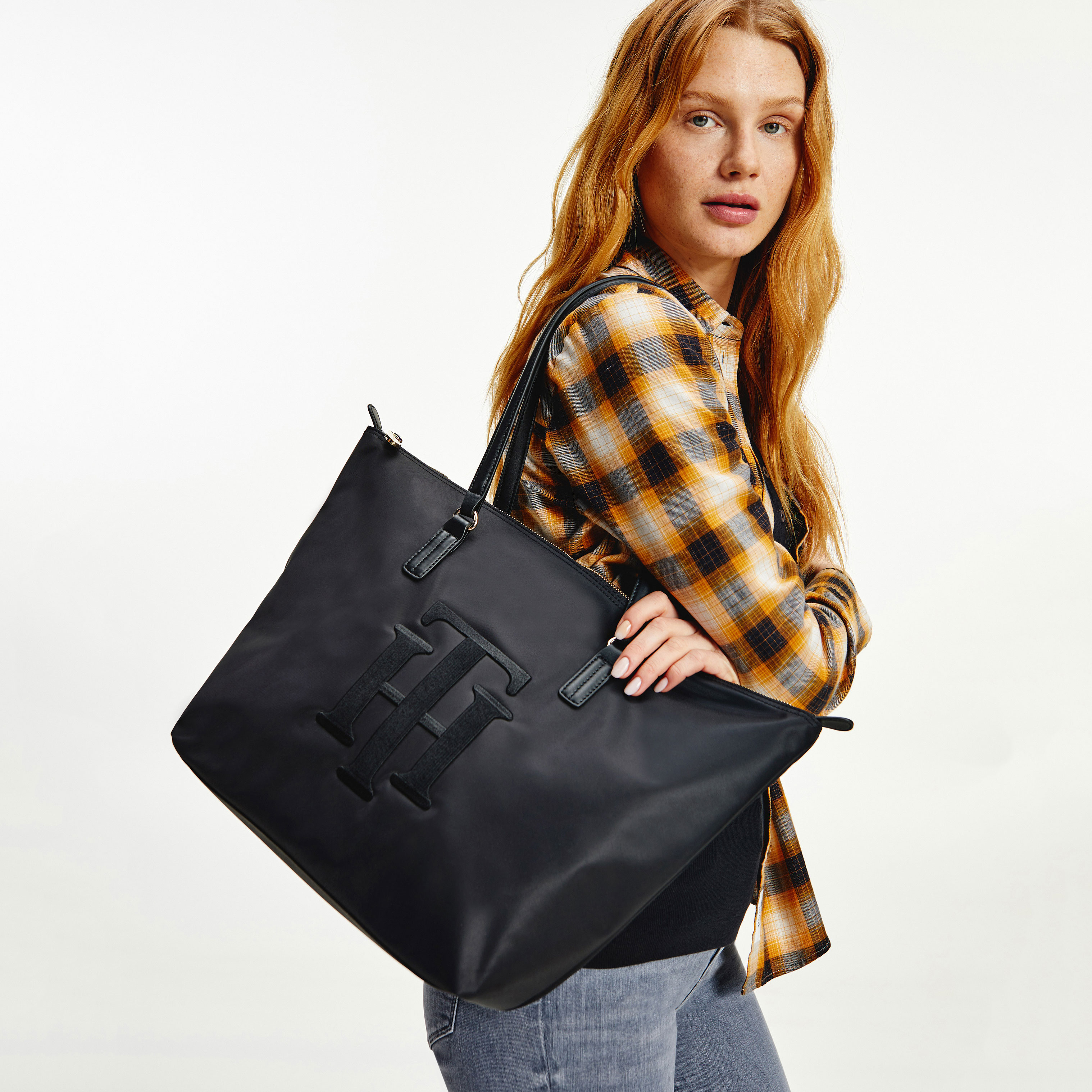 TOMMY HILFIGER Marroquinería Bolso Poppy Tote Th AW0AW10465-BDS