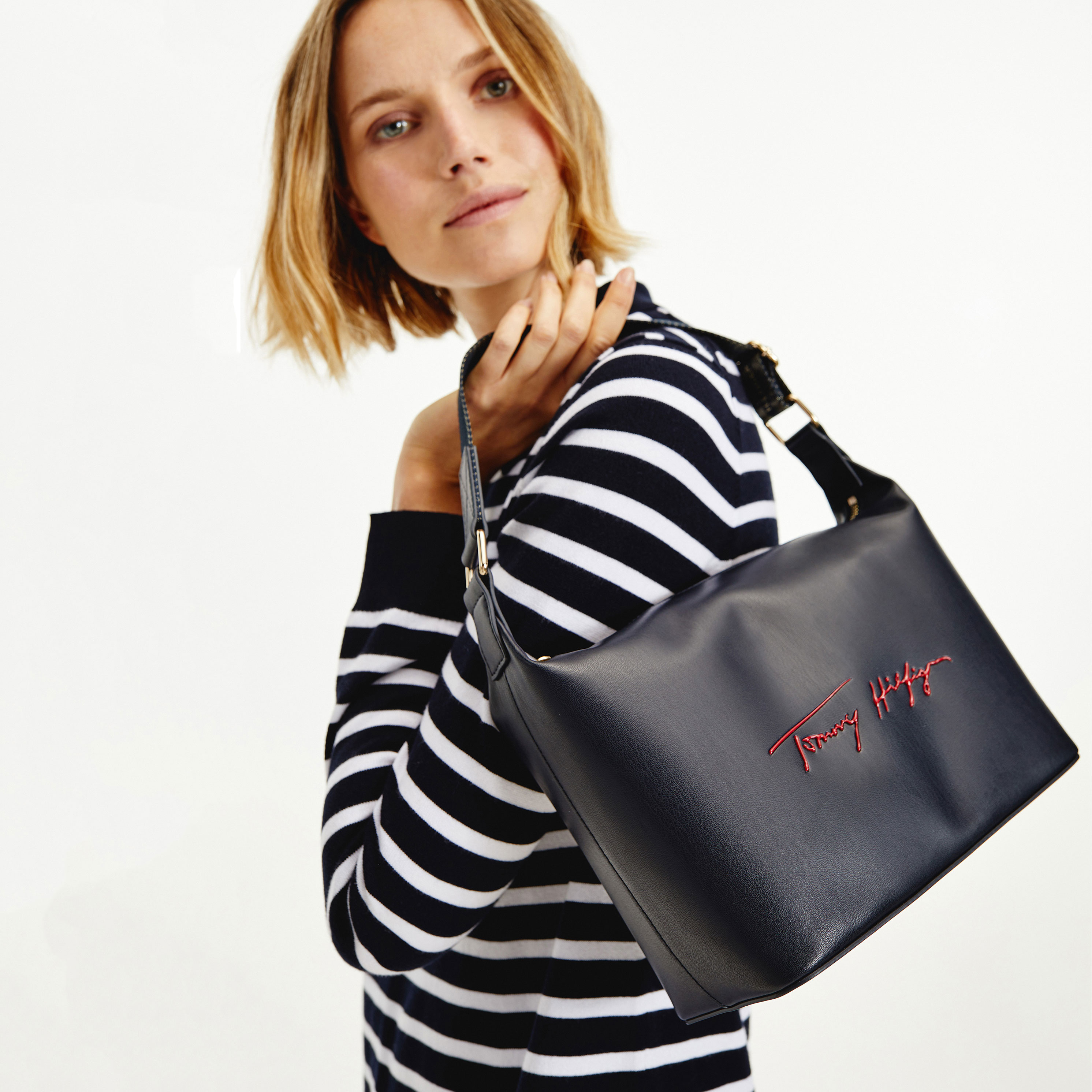 TOMMY HILFIGER Marroquinería Bolso Iconic Tommy Hobo Sign AW0AW10472-DW5