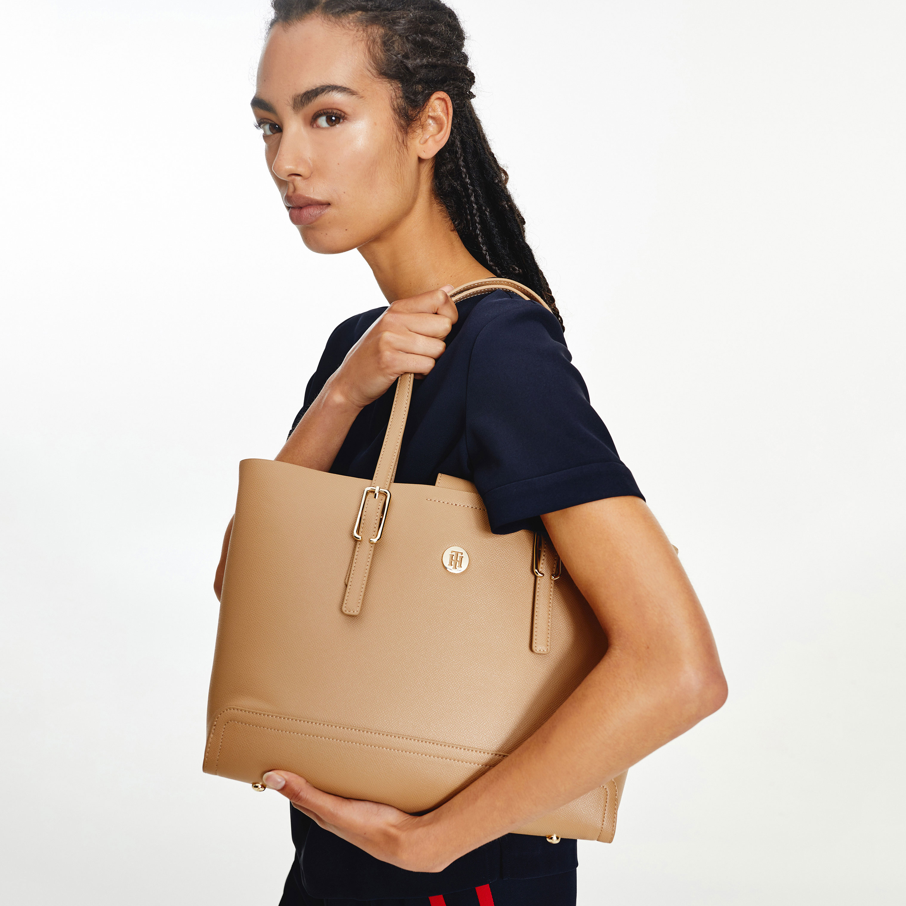 TOMMY HILFIGER Marroquinería Bolso Honey Med Tote AW0AW10492-GUV