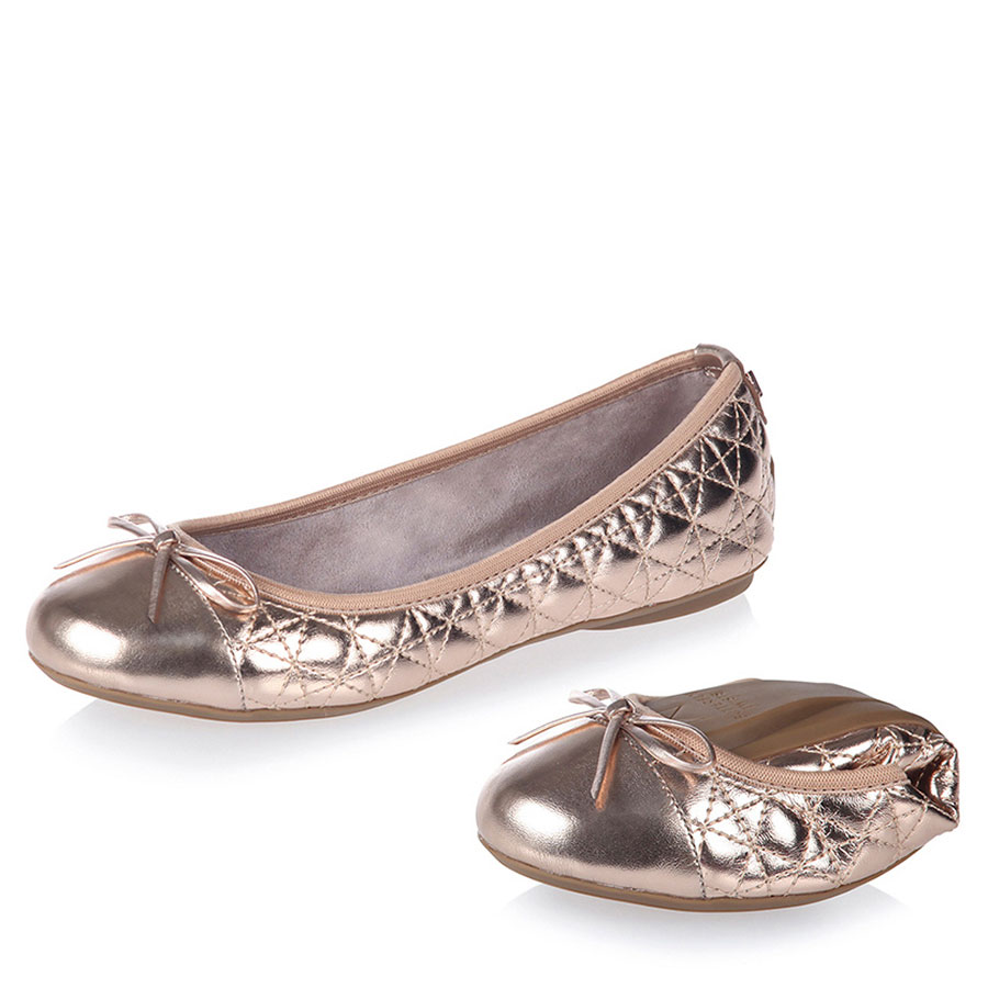 BUTTERFLYTWISTS Calzado Bailarinas Rose Gold BT21-036-006-2330