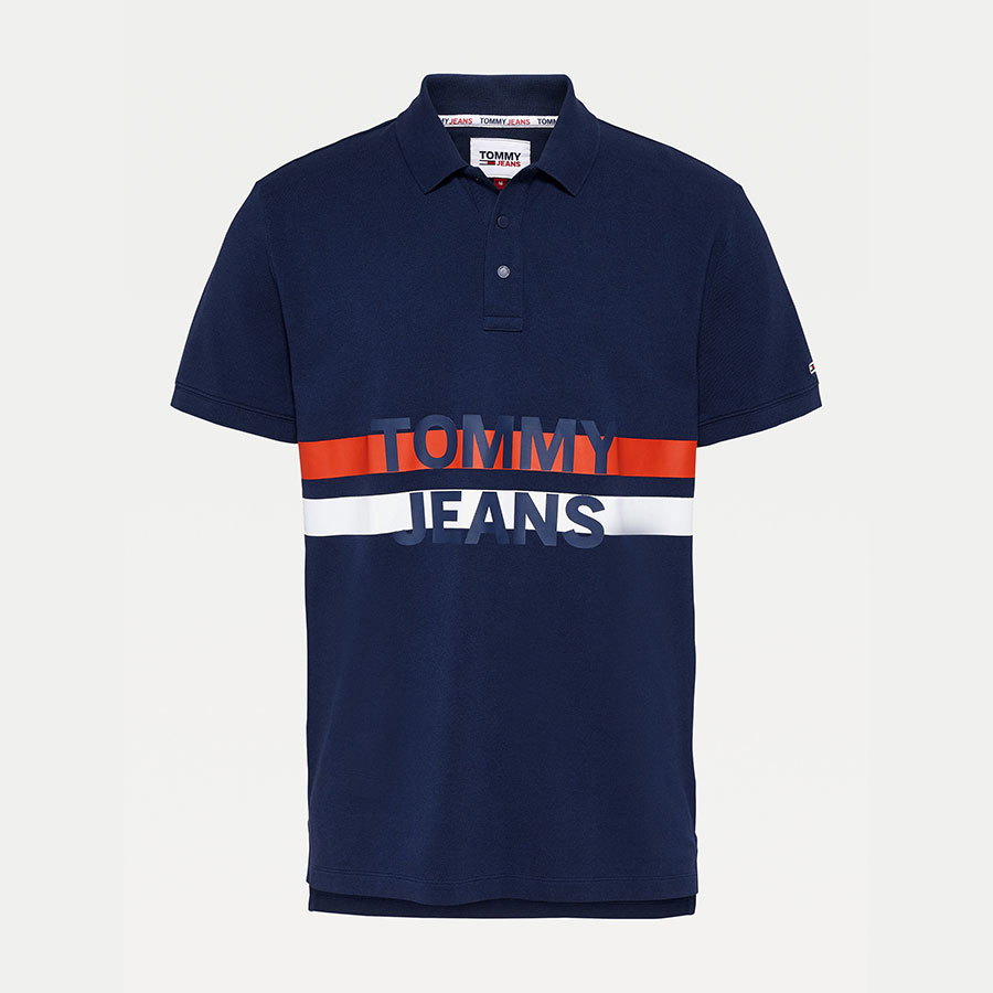 TOMMY JEANS Textil Polo Twilight Navy DM0DM09508-C87