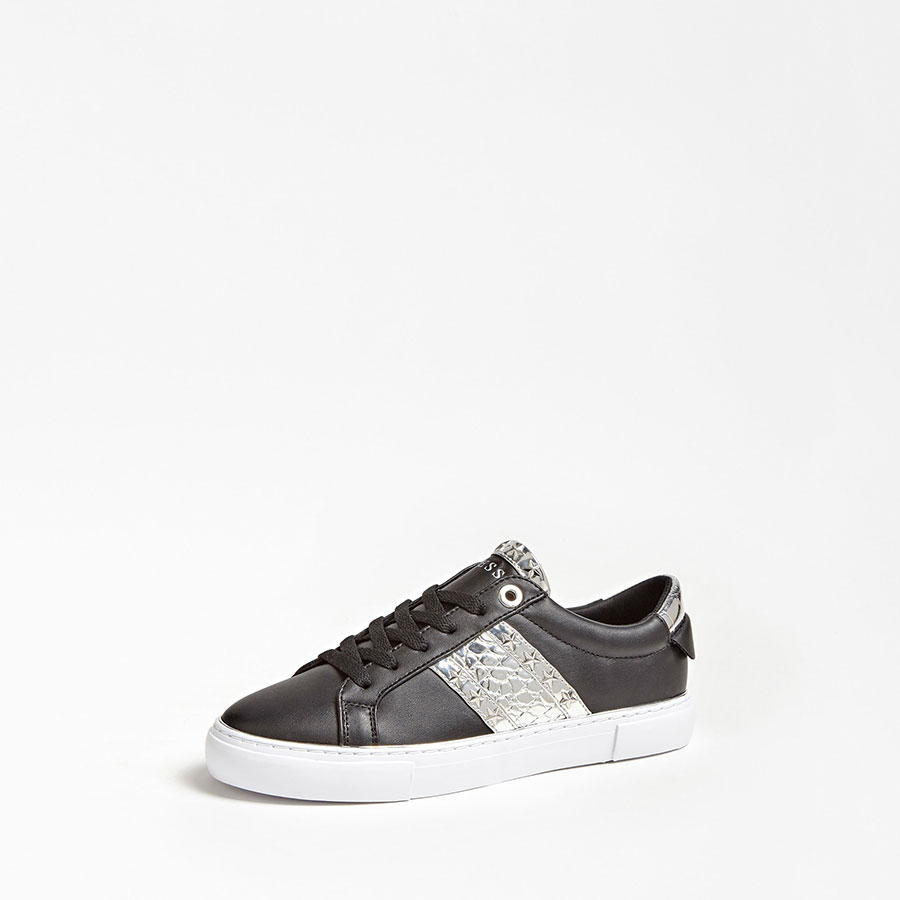 GUESS Calzado Zapatillas color Black Silver FL5GYZ ELE12-BLKSI