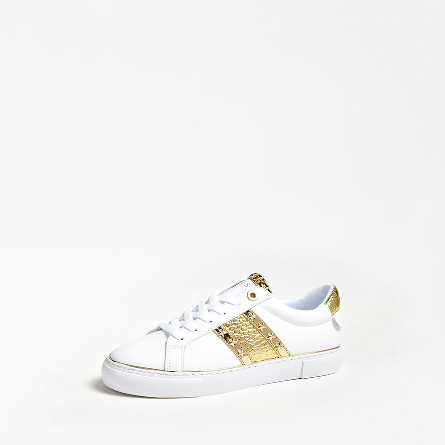 GUESS Calzado Zapatillas color White Gold FL5GYZ ELE12-WHIGO