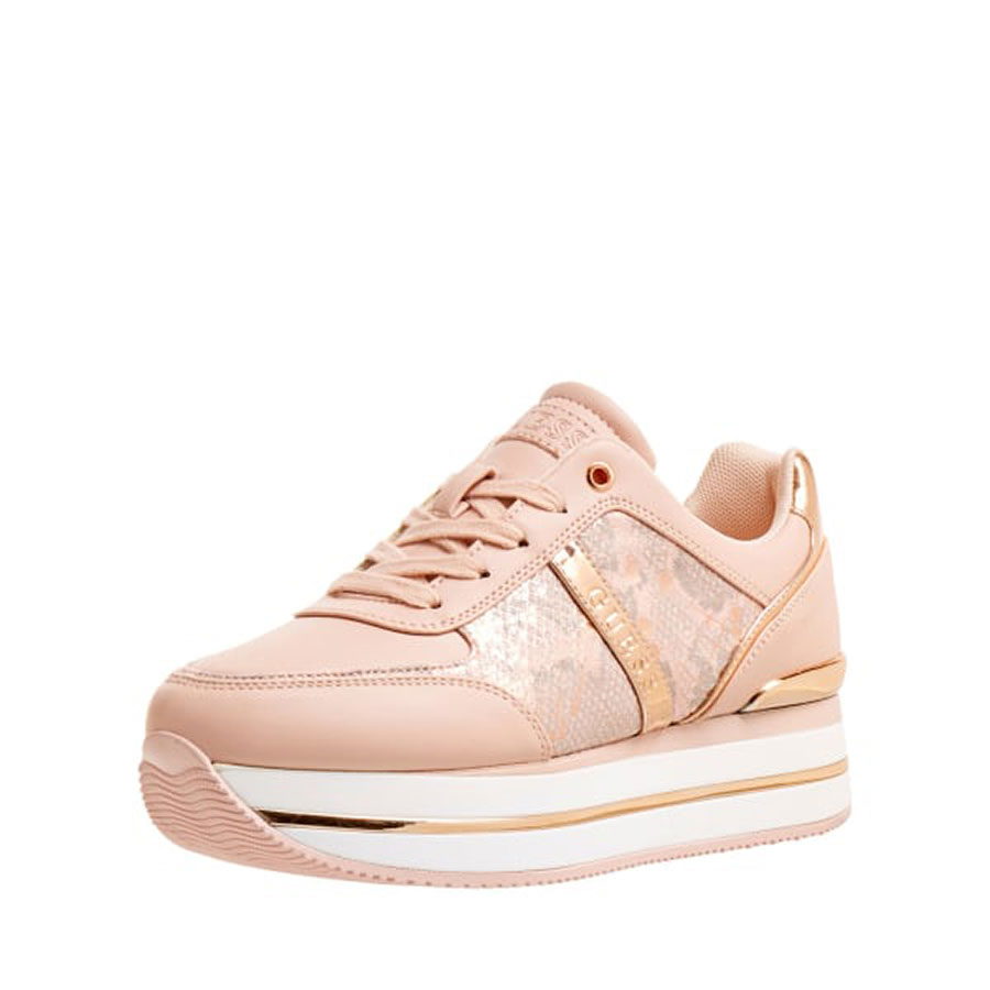 GUESS Calzado Zapatillas color Blush FL7DFE PEL12-BLUSH