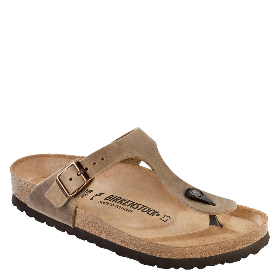 BIRKENSTOCK Calzado Sandalias Oiled Tabacco Brown GIZEH 943811-OILED TABACCO BROWN