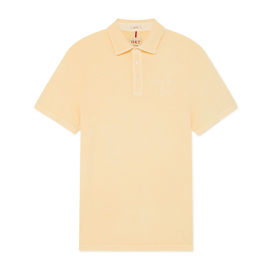HACKETT Textil Polo Light Yellow HM562608-003
