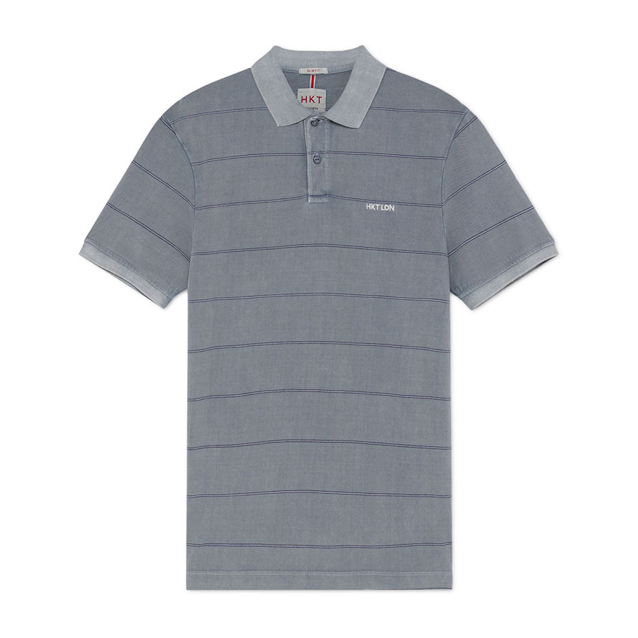 HACKETT Textil Polo Dusty Blue HM562610-515
