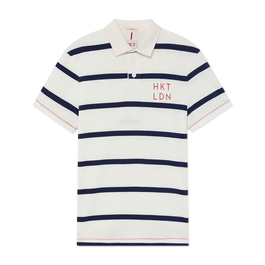 HACKETT Textil Polo Chalk Blue HM570771-5EE