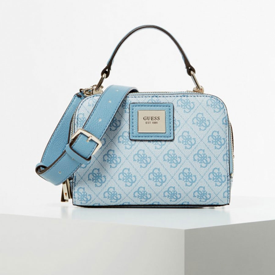 GUESS Marroquinería Satchel color Sky HWST76 68700-SKY
