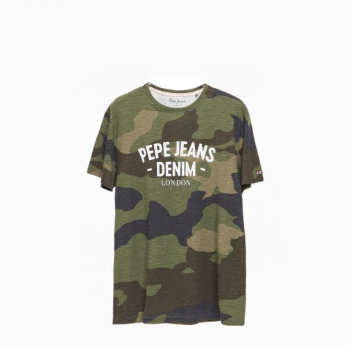 PEPE JEANS Textil Camiseta Forest Green PM507544-682