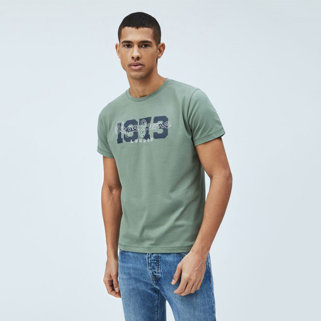 PEPE JEANS Textil Camiseta Forest Green PM507727-682