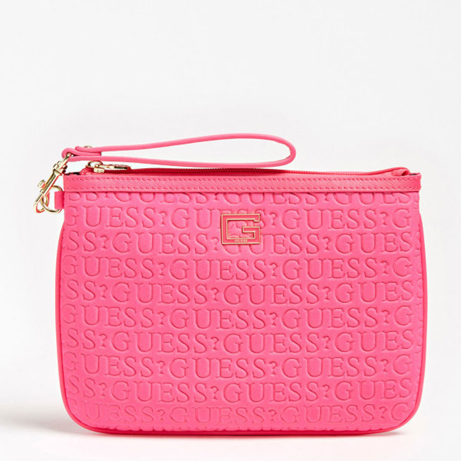 GUESS Marroquinería Neceser color Fuc PWCARI P0202-FUC